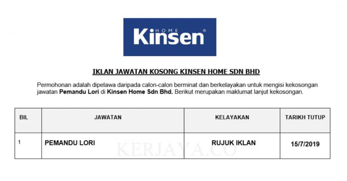Kinsen Home Sdn Bhd