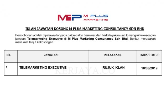 M Plus Marketing Consultancy Sdn Bhd (Puchong)