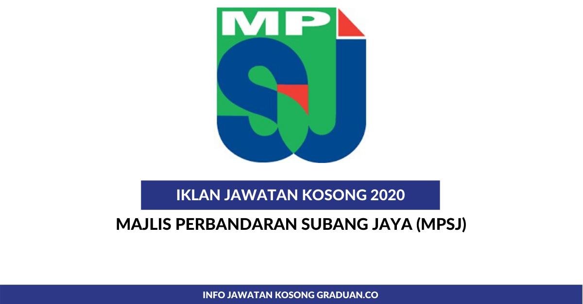 Permohonan Jawatan Kosong Majlis Perbandaran Subang Jaya Portal Kerja Kosong Graduan