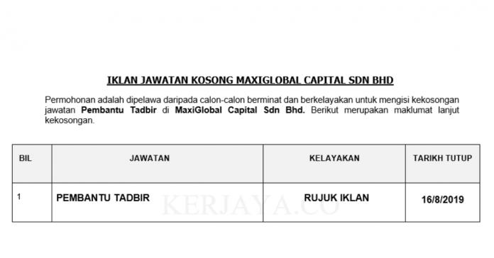 MaxiGlobal Capital Sdn Bhd