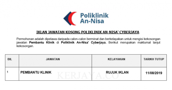 Poliklinik An-Nisa' Cyberjaya