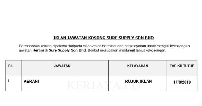 Sure Supply Sdn Bhd