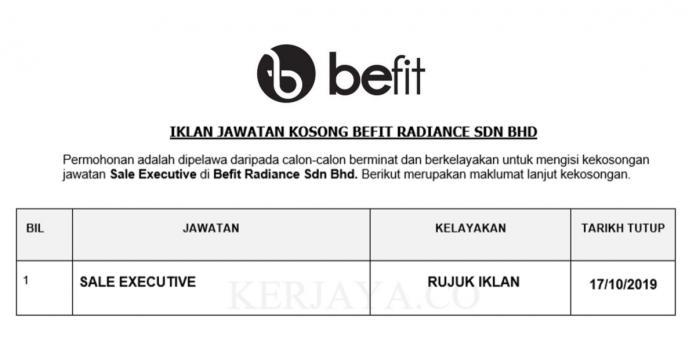 Befit Radiance Sdn Bhd