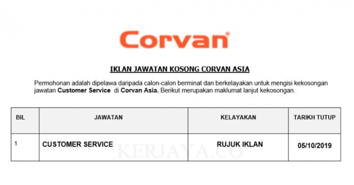 Corvan Asia