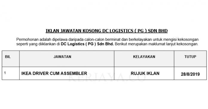 DC Logistics ( PG ) Sdn Bhd