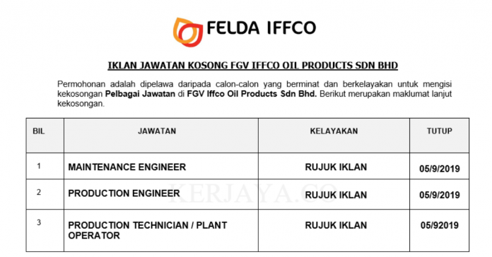 FGV Iffco Oil Products Sdn Bhd