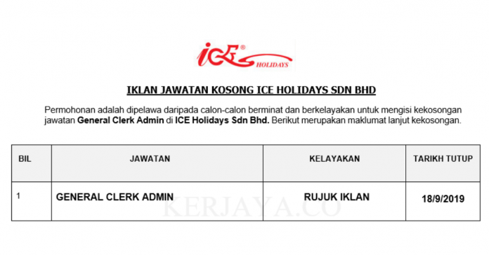 ICE Holidays Sdn Bhd