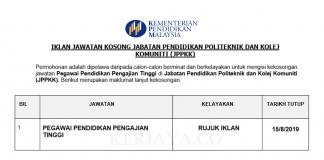 Jabatan Pendidikan Politeknik dan Kolej Komuniti (JPPKK)