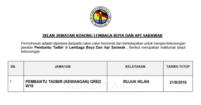 Lembaga Boya Dan Api Sarawak