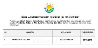 MN Sunshine Holding Sdn Bhd