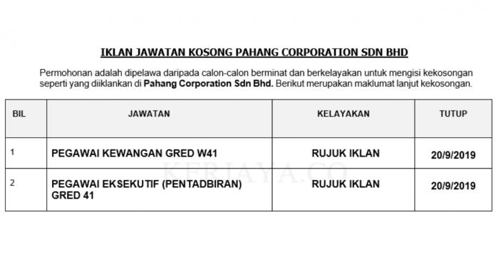 Pahang Corporation Sdn Bhd