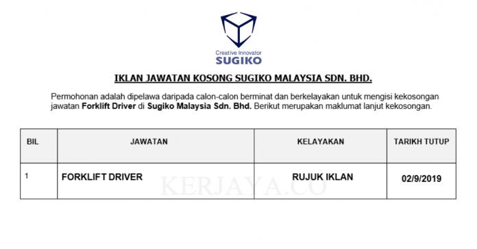 Sugiko Malaysia Sdn. Bhd.