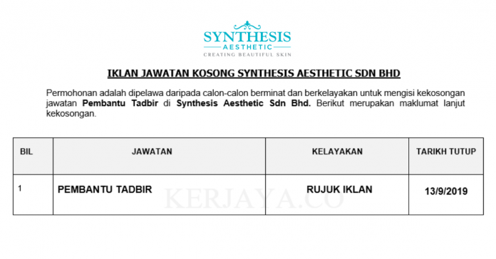 Synthesis Aesthetic Sdn Bhd