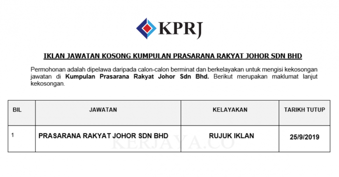 Kumpulan Prasarana Rakyat Johor Sdn Bhd