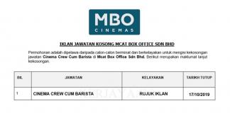 Mcat Box Office Sdn Bhd