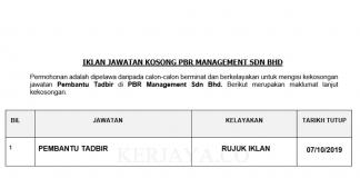 PBR Management Sdn Bhd