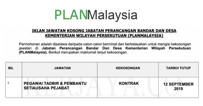 PLAN MALAYSIA