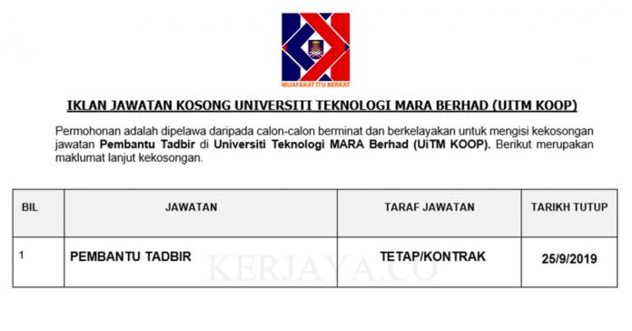 Universiti Teknologi MARA Berhad (UiTM KOOP)