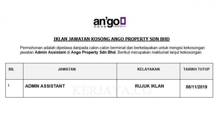 Ango Property Sdn Bhd