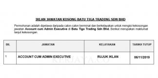 Batu Tiga Trading Sdn Bhd