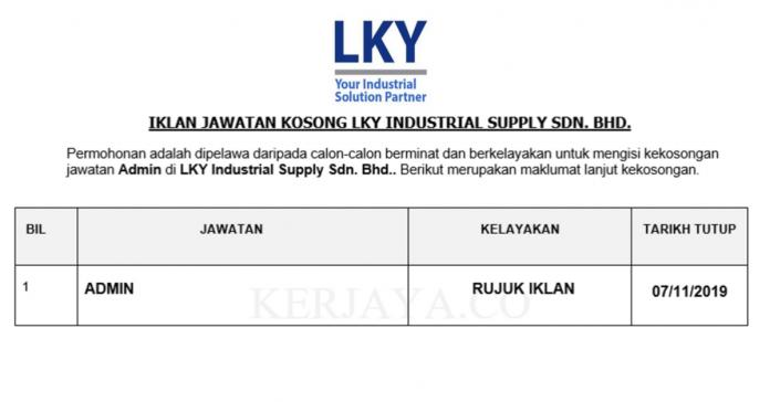 LKY Industrial Supply Sdn. Bhd.