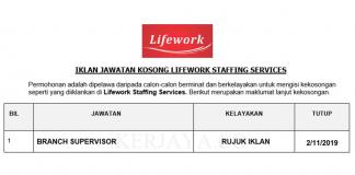 Lifework Staffing Services _ Branch Supervisor