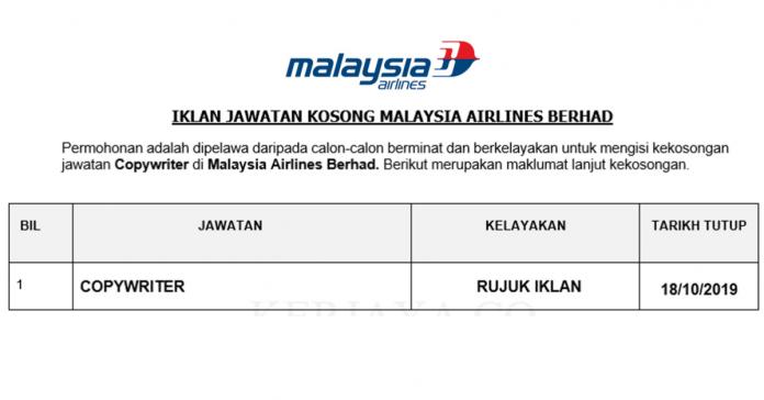 _Malaysia Airlines Berhad