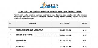 Malaysia Airports Holding Berhad (MAHB)