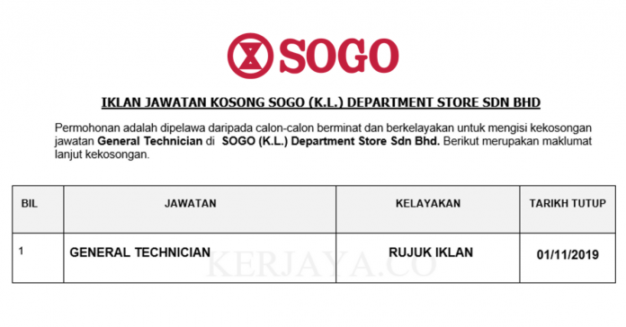 _SOGO (K.L.) Department Store Sdn Bhd