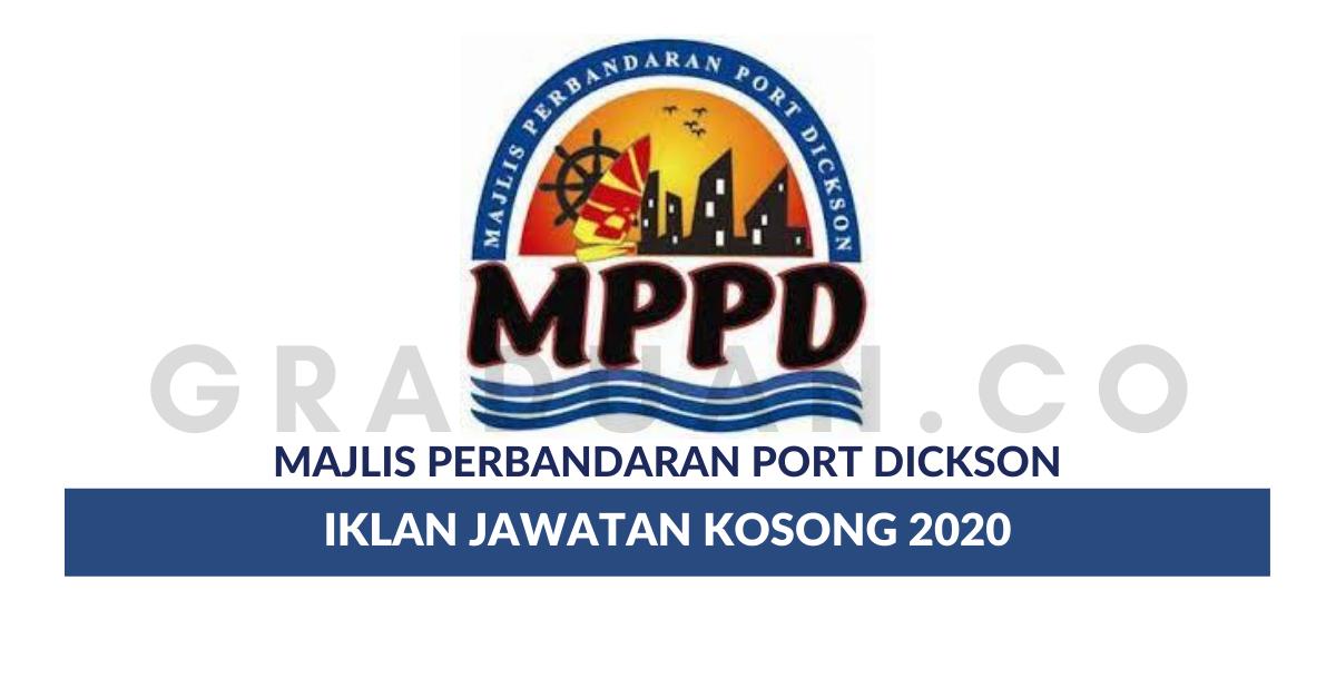 Permohonan Jawatan Kosong Majlis Perbandaran Port Dickson Portal Kerja Kosong Graduan