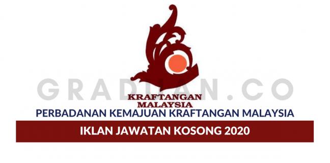 Senarai Kekosongan Jawatan Perbadanan Kemajuan Kraftangan Malaysia Untuk Pencari Kerja Graduan Baru Tahun 2020 Portal Kerja Kosong Graduan