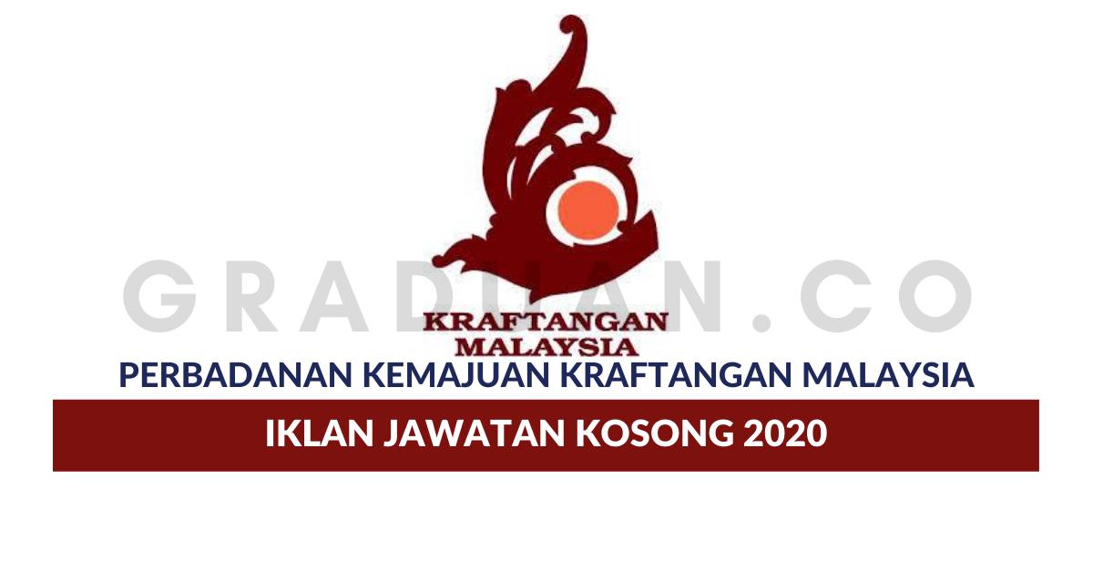 Permohonan Jawatan Kosong Perbadanan Kemajuan Kraftangan Malaysia Portal Kerja Kosong Graduan