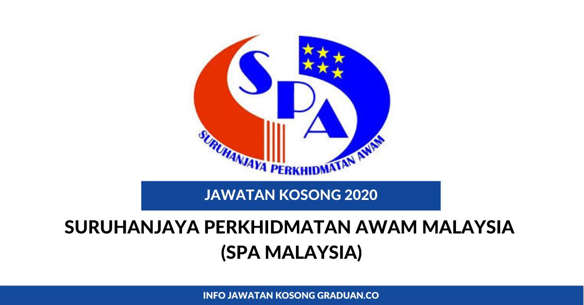 Permohonan Jawatan Kosong 160 Kekosongan Baru Jawatan Kerajaan Di Suruhanjaya Perkhidmatan Awam Malaysia Spa Portal Kerja Kosong Graduan