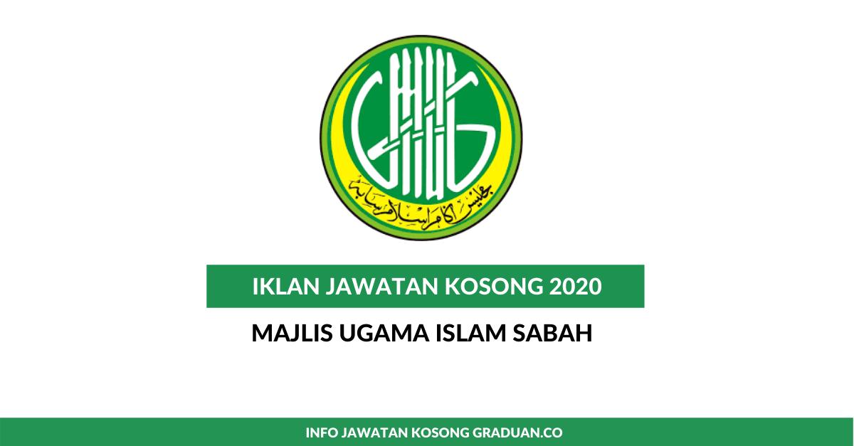 Permohonan Jawatan Kosong Majlis Ugama Islam Sabah Portal Kerja Kosong Graduan