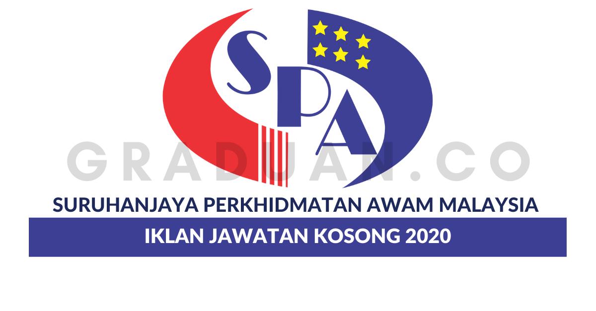 Permohonan Jawatan Kosong Suruhanjaya Perkhidmatan Awam Malaysia Spa Malaysia Kekosongan Jawatan Baru Portal Kerja Kosong Graduan