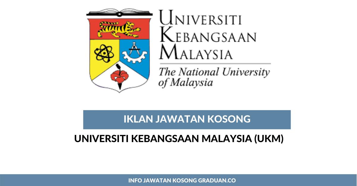 Permohonan Jawatan Kosong Universiti Kebangsaan Malaysia Ukm Pegawai Pegawai Tadbir N41 Portal Kerja Kosong Graduan