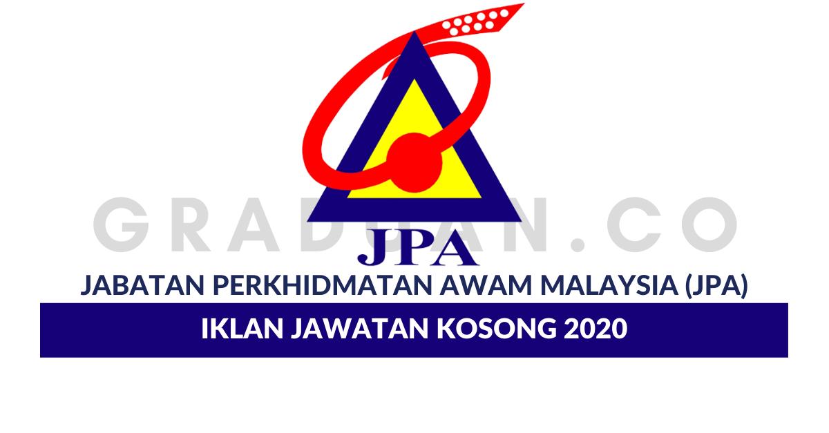 Permohonan Jawatan Kosong Jabatan Perkhidmatan Awam Malaysia Jpa Portal Kerja Kosong Graduan