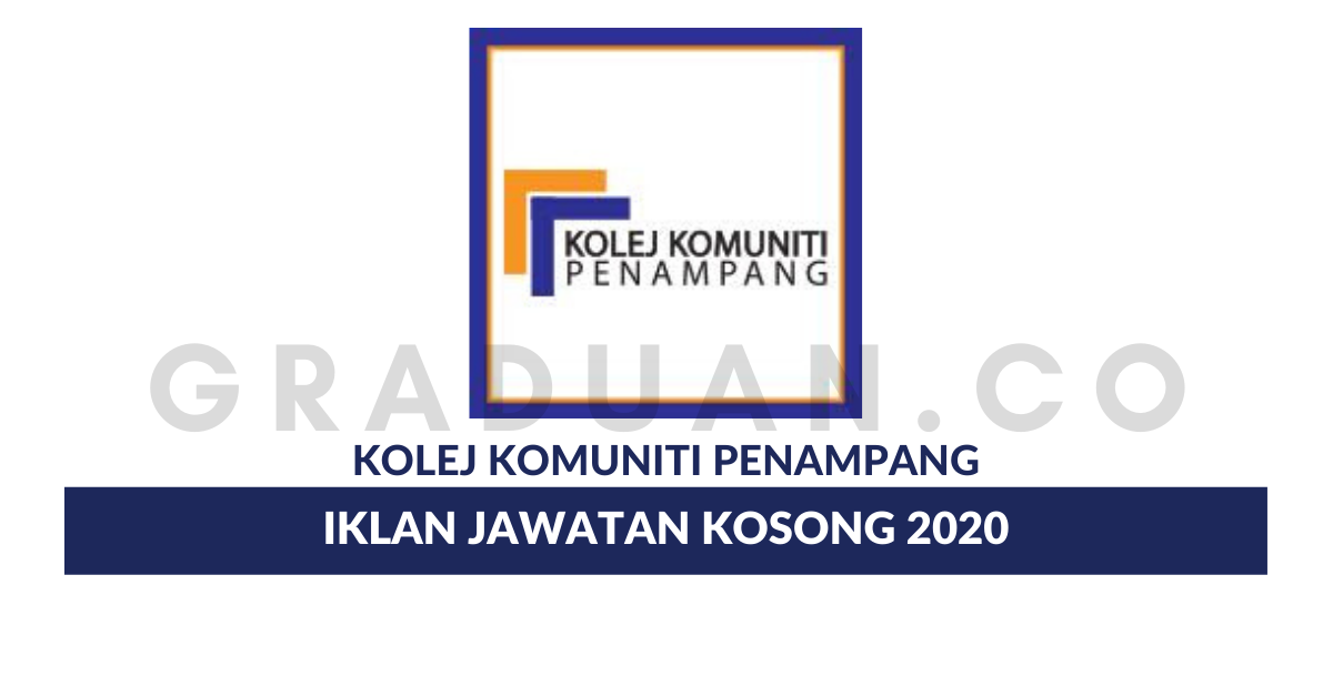 Permohonan Jawatan Kosong Kolej Komuniti Penampang Portal Kerja Kosong Graduan