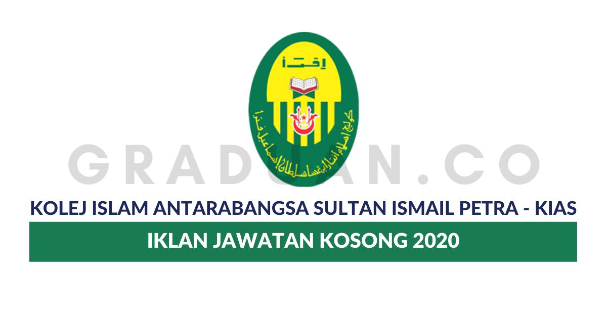 Jawatan Kosong Kolej Islam Antarabangsa Sultan Ismail Petra Job Seeker 2020