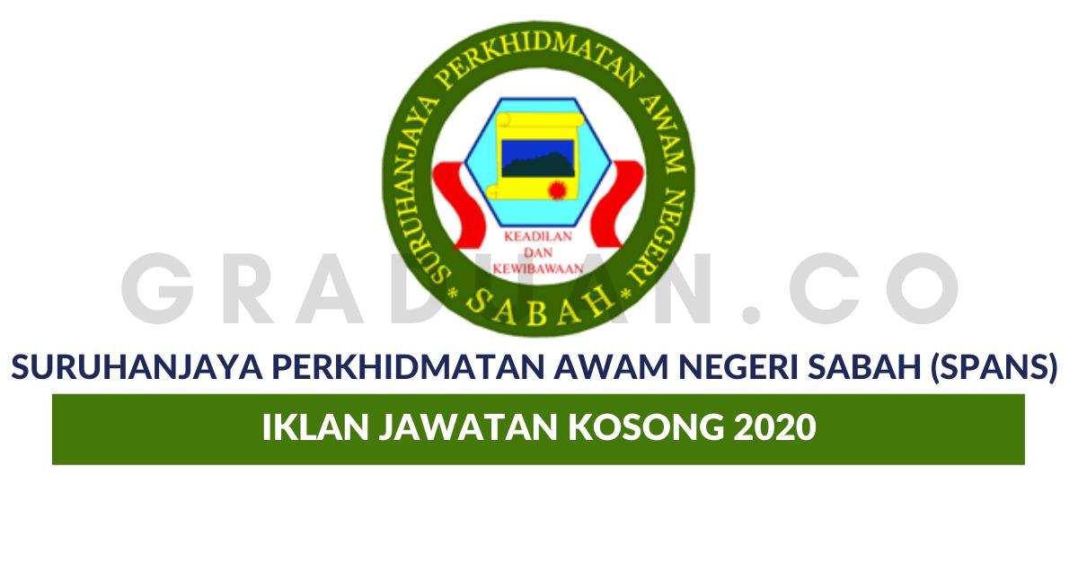 Permohonan Jawatan Kosong Suruhanjaya Perkhidmatan Awam Negeri Sabah Spans Portal Kerja Kosong Graduan