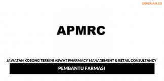 Permohonan Jawatan Kosong Terkini Aswat Pharmacy Management & Retail Consultancy Sdn Bhd