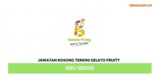 Permohonan Jawatan Kosong Terkini Gelato Fruity