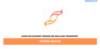 Permohonan Jawatan Kosong Terkini Sin Nam Ann Transport