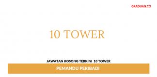 Permohonan Jawatan Kosong Terkini 10 Tower