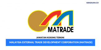 Permohonan Jawatan Kosong Terkini Malaysia External Trade Development Corporation (MATRADE)