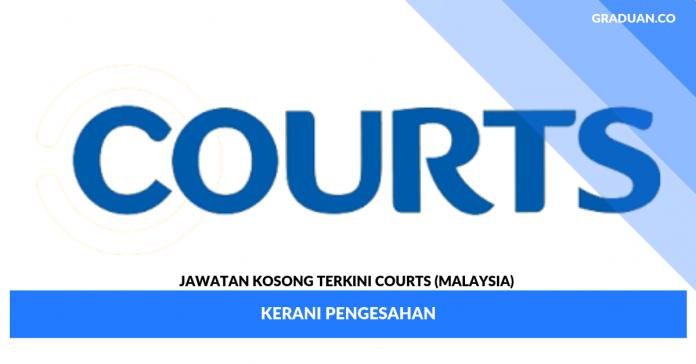 _Jawatan Kosong Terkini Courts (Malaysia) _ Kerani Pengesahan