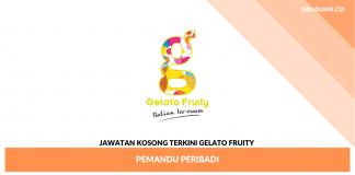 Jawatan Kosong Terkini Gelato Fruity _ Pemandu Peribadi