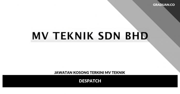 _Jawatan Kosong Terkini MV Teknik
