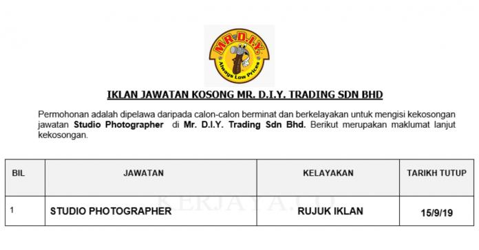 Mr. D.I.Y. Trading Sdn Bhd