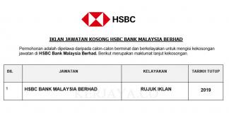 HSBC Bank Malaysia Berhad